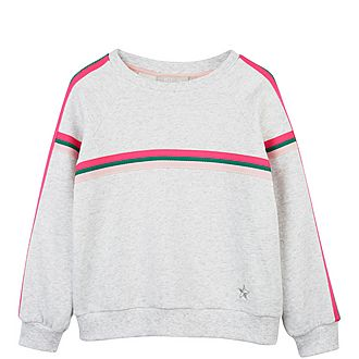 Neon Striped Sweatshirt