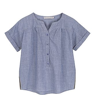 Striped Chambray Shirt