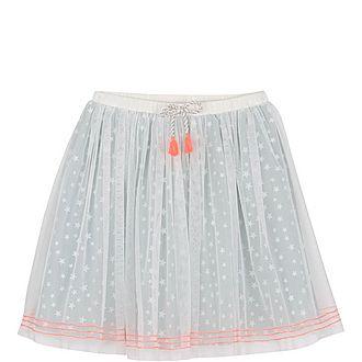 Star Print Tutu Skirt