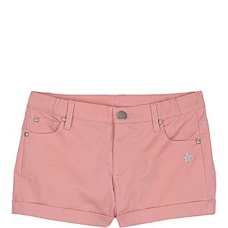 Turn-Up Hem Shorts