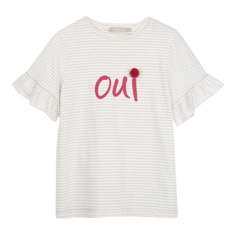 """Striped """"Oui"""" T-Shirt, ${color}"""