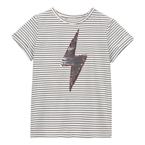 Sequin Lightning T-Shirt, ${color}
