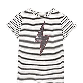 Sequin Lightning T-Shirt