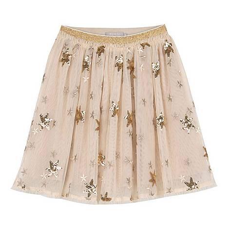Sequin Star Tutu Skirt, ${color}