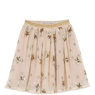 Sequin Star Tutu Skirt