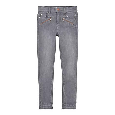 Let Down Hem Skinny Jeans, ${color}
