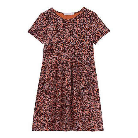 Margot Leopard Print Dress, ${color}