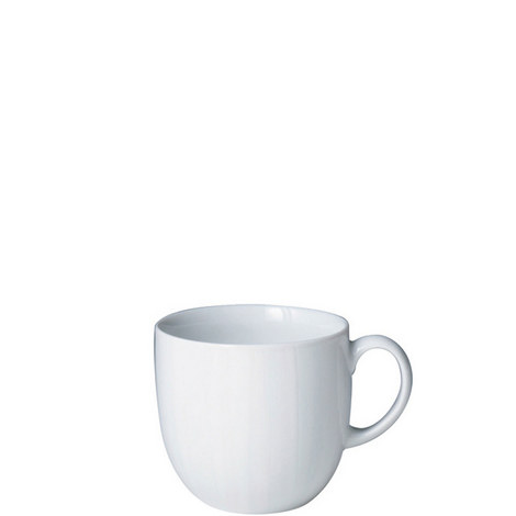Set of 4 White by Denby Mugs, ${color}