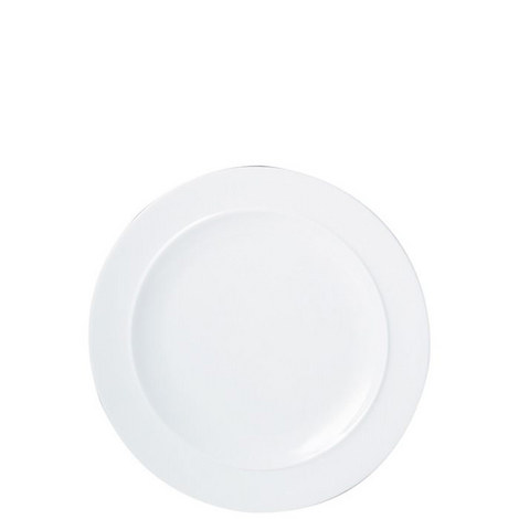 White Salad Plate, ${color}