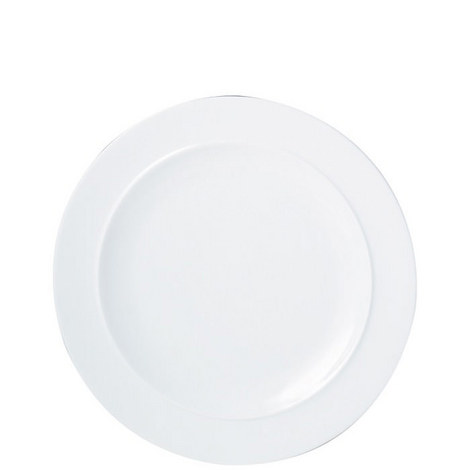 White Dinner Plate, ${color}
