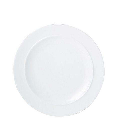 White Dinner Plate, ${color}