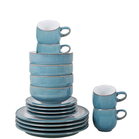 Azure 16-Piece Tableware Set, ${color}