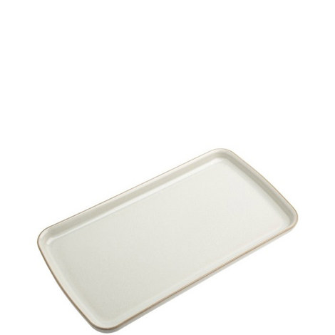 Linen Rectangular Plate, ${color}