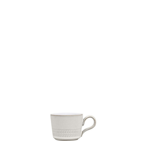 Natural Canvas Textured Espresso Cup Large, ${color}