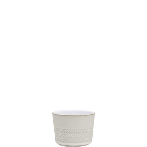 Natural Canvas Textured Sugar Bowl/Ramekin, ${color}