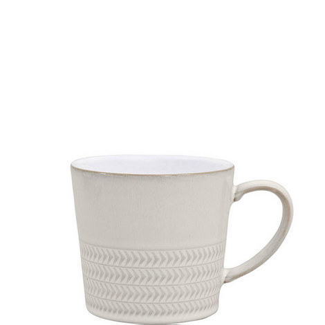 Natural Canvas Textured Mug Large, ${color}