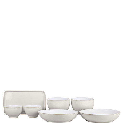 Natural Canvas Friday Night Takeaway Set, ${color}