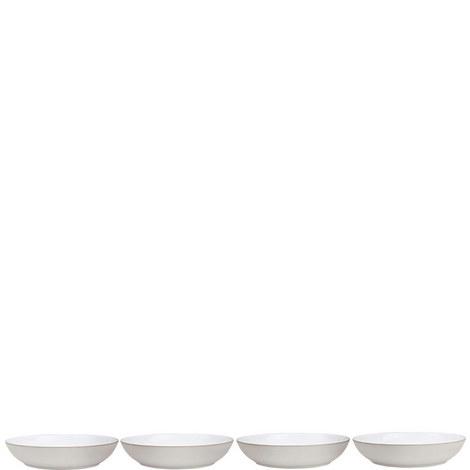 Natural Canvas set of 4 Pasta Bowls, ${color}