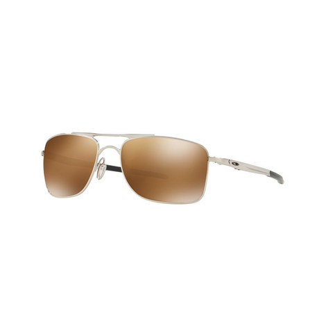 Rectangular Gauge Sunglasses OO4124 62, ${color}