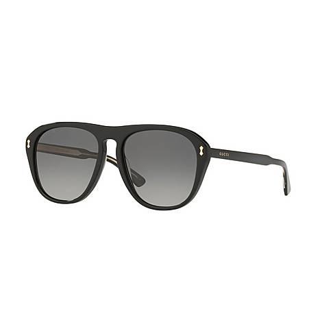 Square Sunglasses GG0128S 56, ${color}