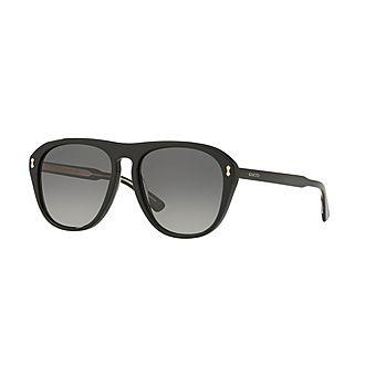 Square Sunglasses GG0128S 56
