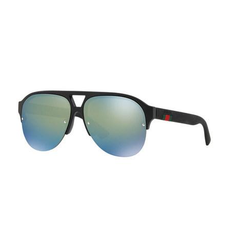 Aviator Sunglasses GG0170S 59, ${color}
