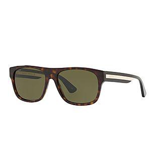 Rectangular Sunglasses GG0341S