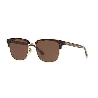 Rectangle Sunglasses GG0382S