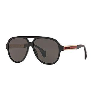 Aviator Sunglasses GG0463S