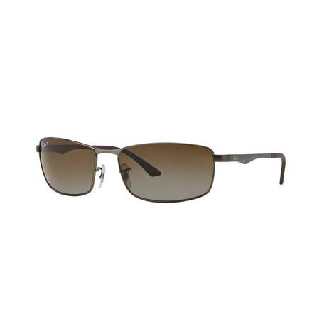 Rectangular Sunglasses RB3498 64, ${color}