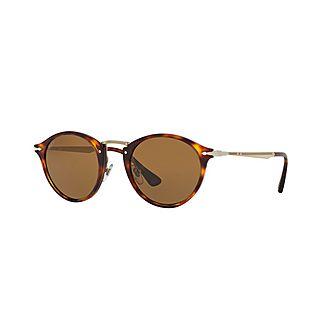 Round Sunglasses PO3166S