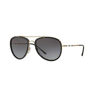Aviator Sunglasses BE3090Q 58
