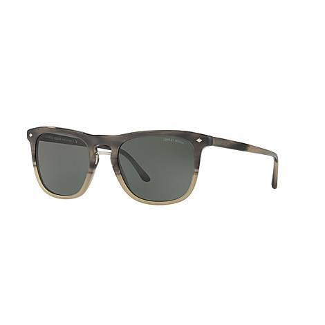 Square Sunglasses AR8107 53, ${color}
