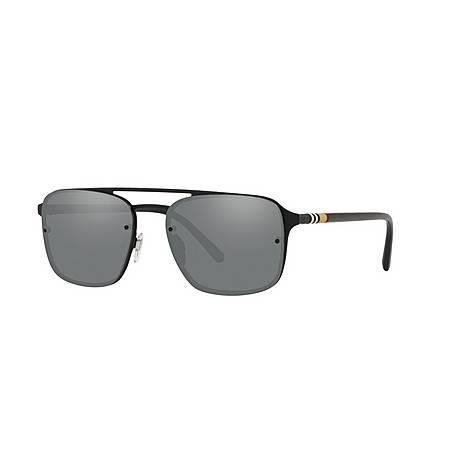 Square Sunglasses BE3095 56, ${color}