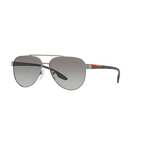 Aviator Sunglasses PS 54TS 58, ${color}