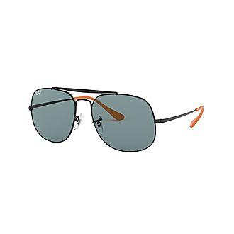 General Square Sunglasses RB3561 57  Polarised