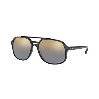 Square Sunglasses RB4312CH 57 Chromance Polarised