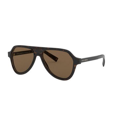 Pilot Sunglasses 0DG4355, ${color}