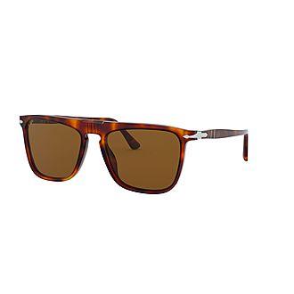 Rectangle Sunglasses 0PO3225S Polarised