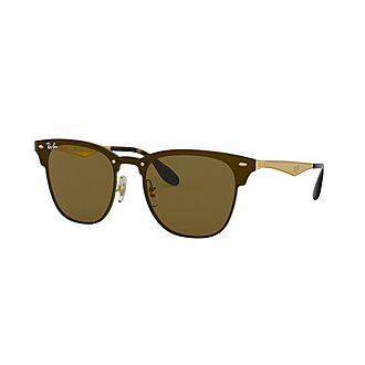 Blaze Clubmaster Square Sunglasses