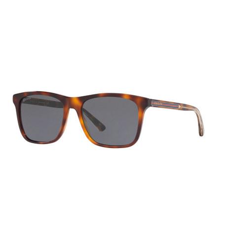 Square Sunglasses GG0381S, ${color}