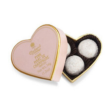 Mini Pink Marc De Champ Truffle Heart Box