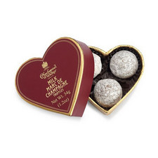 Mini Marc De Champagne Truffles Heart Box