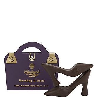 Handbag and Heels Dark Chocolates