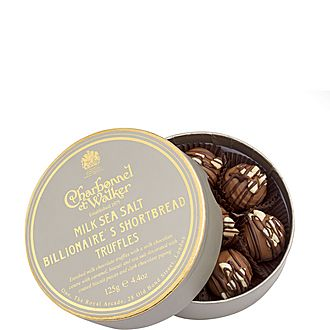 Billionaire's Shortbread Truffles