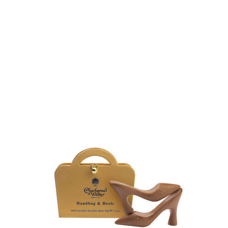 Milk Chocolate Sea Salt Handbags and Heels, ${color}