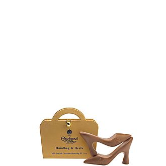 Milk Chocolate Sea Salt Handbags and Heels