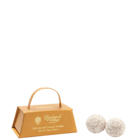Mini Milk Sea Salt Caramel Truffles 24g, ${color}
