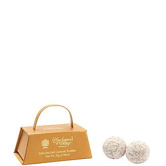 Mini Milk Sea Salt Caramel Truffles 24g