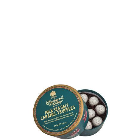 The Dancing Ballerina Milk Sea Salt Caramel Truffles 245g, ${color}